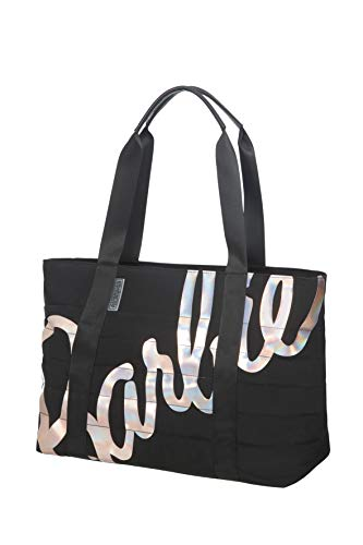American Tourister Tote (American Tourister Modern Glow Barbie - Tote Bag, Schwarz (Shimmer Power Barbie))