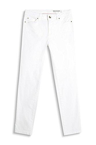 edc by ESPRIT Damen Hose Weiß (White 100)
