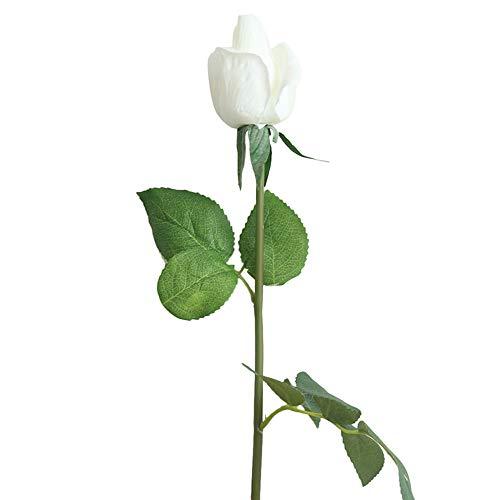 Lazzboy Unechte Blumen,Künstliche Deko Blumen Gefälschte Blumen Blumenstrauß Seide Wirkliches Berührungsgefühlen, Braut Hochzeitsblumenstrauß für Haus Garten Party Blumenschmuck ()