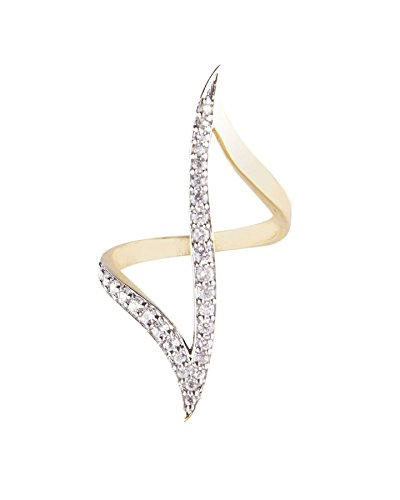 SKN Gold & Silver American Diamond Metal Small Finger Ring for Women & Girls (SKN-1453A)  available at amazon for Rs.119