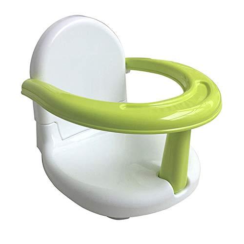 QLG&S Baby-Sicherheitsduschsitz, Kind Faltbarer Esstisch und Stuhl, Bad Rutschfeste Rückenlehne Badewanne, geeignet für 6-24 Monate Kind -