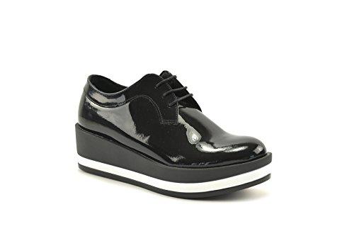 CONBUENPIE  0663, chaussures femme Noir