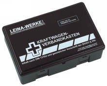 Leina Werke KFZ-Verbandkasten Standard Schwarz