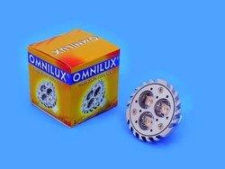 OMNILUX MR 16 12V GU 5 3 3X2W LED 3000K 30°