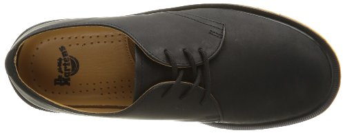 Dr Martens 1461 Pw Greasy, Chaussures à lacets mixte adulte Noir (Black)