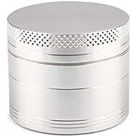 fgyhtyjuu 4 Capas de aleación de Zinc Mini Hierba de la Especia del cigarro del Tabaco Amoladora portátil prácticas Herramientas de Cocina