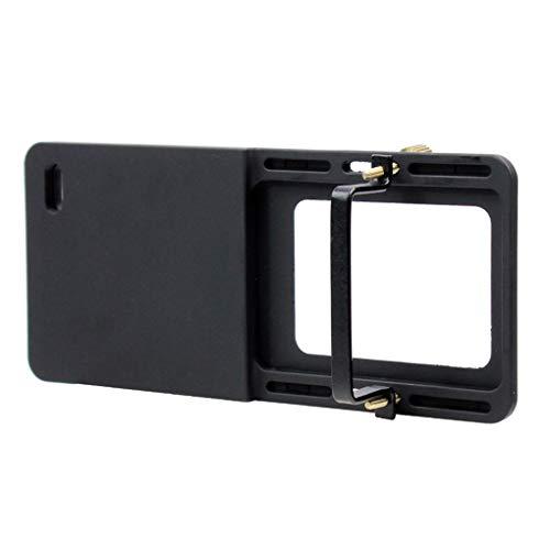 Boburyl sostituzione per gopro action camera accessori piastra di montaggio adattatore portatile stabilizzatore mobile del giunto cardanico