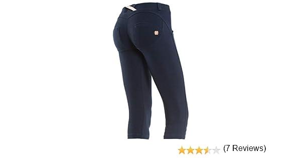 FREDDY WR.UP Pantalon Style Corsaire Taille Basse pour Femme