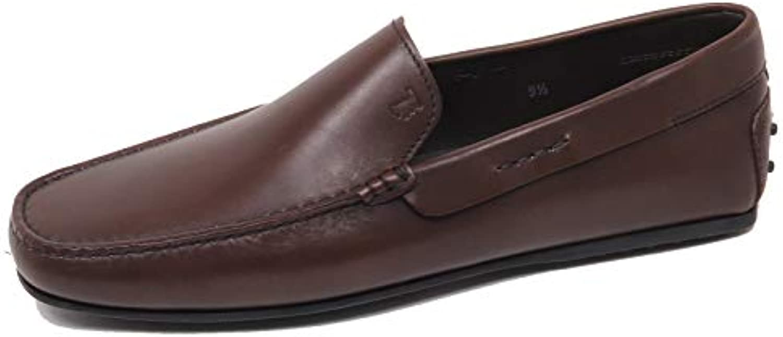 F0338 Mocassino Uomo Marronee Tod'S Scarpe Loafer scarpe Man | Clienti In Primo Luogo  | Uomini/Donna Scarpa