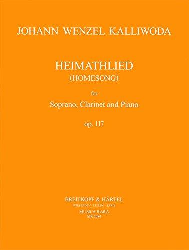 musica-rara-kalliwoda-johann-wenzel-heimathlied-op117-soprano-clarinet-piano-classical-sheets-sopran