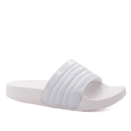 London Weiß hinten offen FootwearDamen sicotec vyb7gIYf6