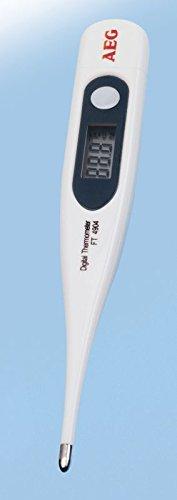 Fieberthermometer mit LED Display zur präzisen Messung innerhalb von 90 Sekunden sowie automatischer Speicherung des letzten Wertes inkl. Abschaltautomatik, NEU + OVP