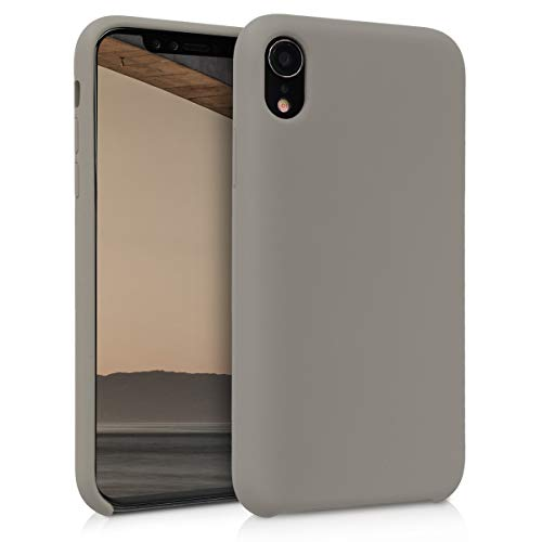 kwmobile Apple iPhone XR Hülle - Handyhülle für Apple iPhone XR - Handy Case in Taupe