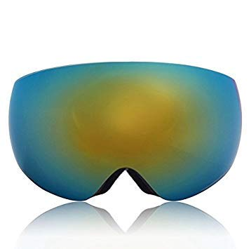 Casavidas Winter Unisex Anti-Fog Gelb & Blau Dual Len Motor Bike Racing Outdoors Snowboard Skibrille