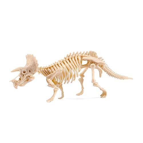 Xiton Dinosaurier-Ausgrabung Spielzeug Triceratops Stil Kinder pädagogisches Spielzeug Geburtstags-Geschenk Dinosaurier-Fossil Dig ()
