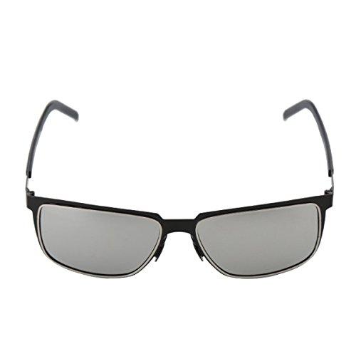 Uomo Pesca Occhiali Da Sole Polarizzato Anti UV Occhiali Da Sole Grey