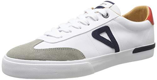 Pepe Jeans London Herren North Archive Sneaker, Weiß (800white 800), 43 EU