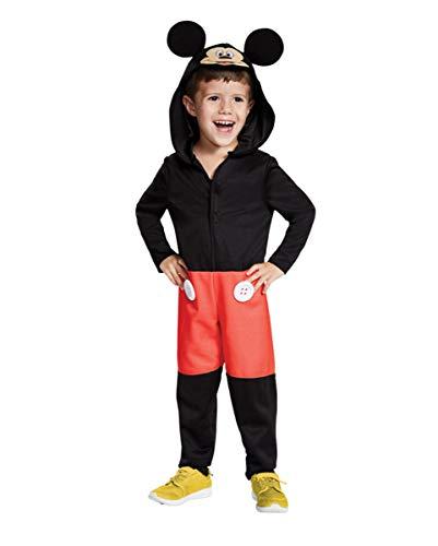 Horror-Shop Mickey Maus Kinderkostüm für Karneval und Halloween L