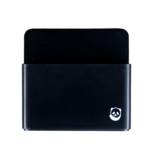 Magnetischer Stifthalter von SmartPanda - Whiteboard-Stifthalter mit starkem Magneten - Für Kühlschrank, Haus oder Büro - Schwarz