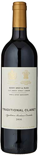 The Wine Merchants Range 2016 Berry Brothers and Rudd Traditional Claret Red Wine, 75 cl