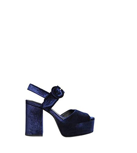 Jeffrey Campbell Masie, Sandali con Tacco Donna Navy