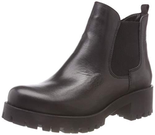Tamaris Damen 25435-21 Chelsea Boots, Schwarz (Black Leather 3), 41 EU