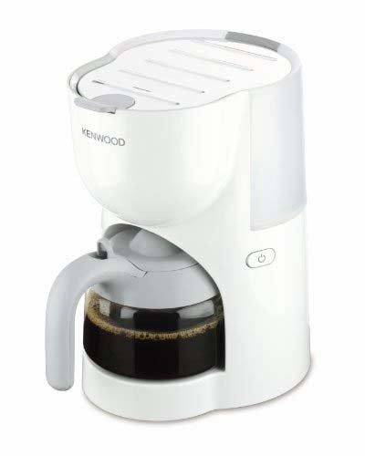 Kenwood CM200 - Cafetera de goteo (6 tazas), color blanco