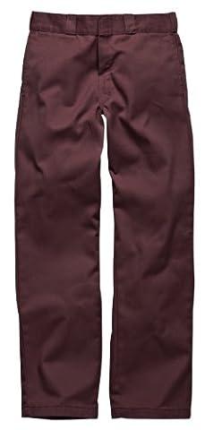 Dickies Herren Relaxed Hose Orgnl 874Work Pnt, Gr. W38/L32 (Herstellergröße: 38R), Rot (Maroon MR)
