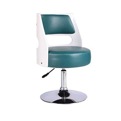 Set Massivholz Sessel (Barhocker Home Barhocker, Massivholz Sessel Barstuhl Haushalt Computer Sessellift Drehstuhl Höhenverstellbar Mit Armlehnen Hocker (Farbe: # 2))