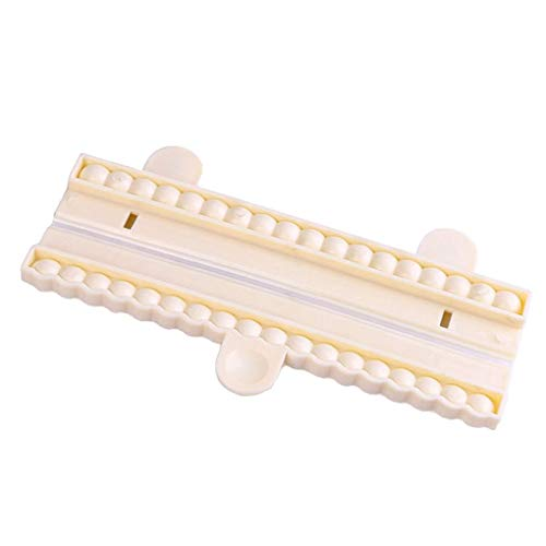 PRENKIN Perlen Korn Ketten Fondant Scherblock Form Dekorieren Kuchen Gum Paste Sugar Schokoladen Form Werkzeug Non-stick Form Pate