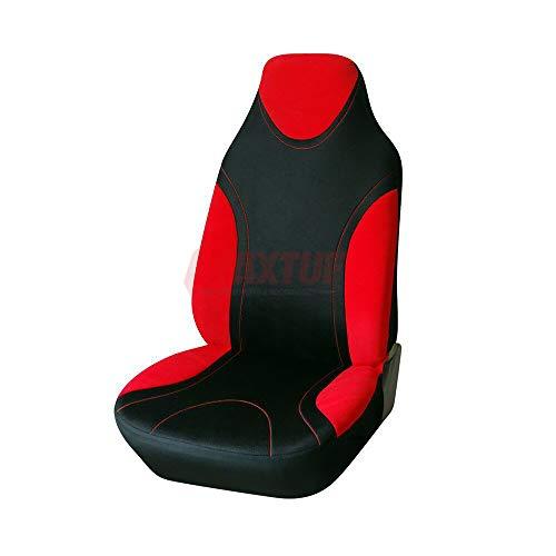 MAXTUF Einzelsitzbezug Vordersitzbezug für Autositz mit Seitenairbag Auto Vordere Sitzbezug Autositzbezug Universal Fahrersitz Beifahrersitz Sitzbezug