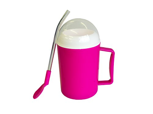 Allcam Ice Slush and Chilled Drinks Maker in Pink: Cold Drinks in Seconds & Icy Slushie in Minutes - ideal gift for Children & Young Parents