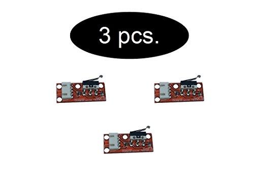 SET Endstop Endschalter ( mechanischer oder optisch ) Microswitch Schalter für 3d Drucker (3 x Mechanical)