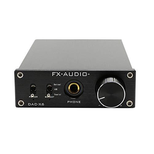 FX-Audio DAC-X6 HiFi óptico USB coaxial Amplificador