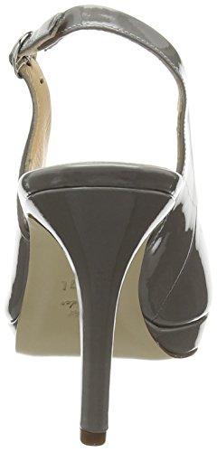 Högl Lila, Chaussures à talons avec bride à l'arrière femme Gris - Grey (Grey 6000)