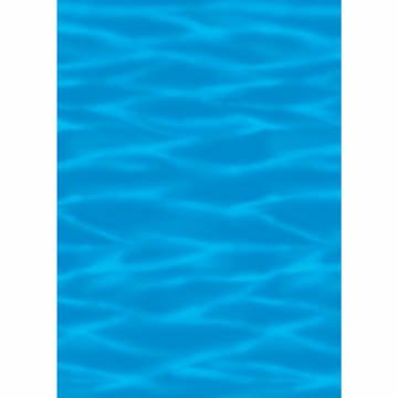 Kostüm Unterwasser Meerestiere - PARTY DISCOUNT Wand-Deko Blauer Ozean, 1,2 x 12,2 Meter