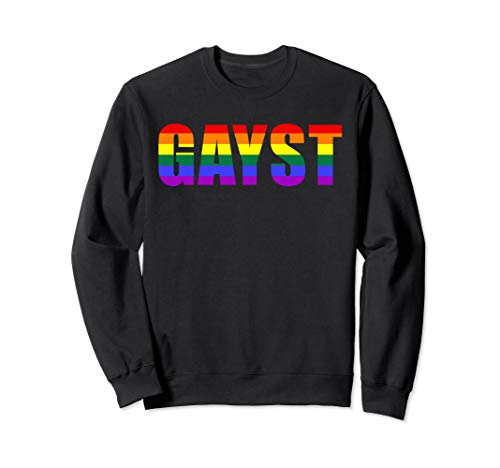 Gayst Gay Geist LGBT Queer Trans Bi Regenbogen Gay Pride   Sweatshirt