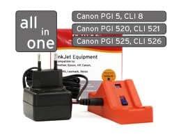 Canon chip resetter PGI5, CLI8, PGI520, CLI521, PGI525, CLI526