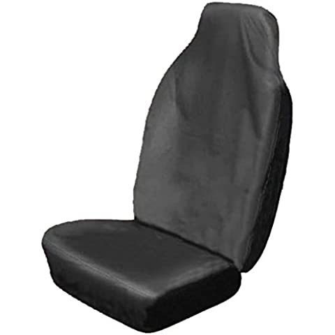 Frostfire Universal Car Seat Cover - Black (Single)
