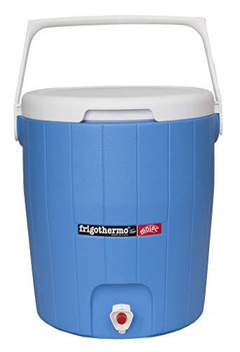 frigothermo Kühlboxen Kühlbox mit Zapfhahn und Tragegriff Getränkespender Getränkebehälter 5/8/12/18/27/33 Liter (18 Liter - rund)