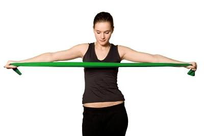 Kintex® Fitnessband Gymnastikband Latexband 2,5m x 15cm (extra dünn - max. stark) Fit durch den Winter mit dem KINTEX Fitnessband - Freie Farbwahl - verschiedene Stärken - Fitnessübungen von Kintex