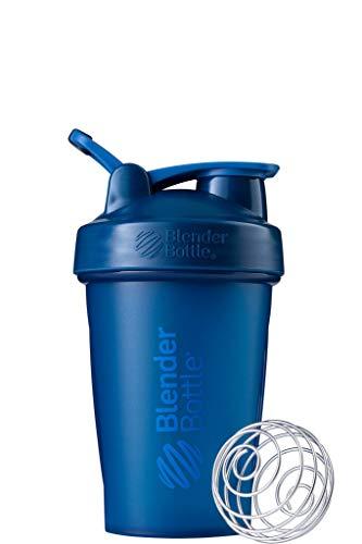 Blender Bottle Classic Loop - Protéine Shaker | Bouteille d'eau avec poignée de transport | 590 ml| full color navy