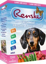 RENSKE FRESH MEAT MENU - LAMB - 10 x 395 g
