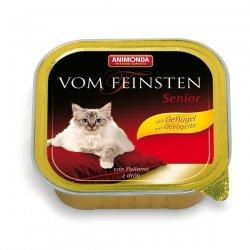 Animonda vom Feinsten Senior mit Geflügel 100 g , Futter, Tierfutter, Nassfutter für Katzen