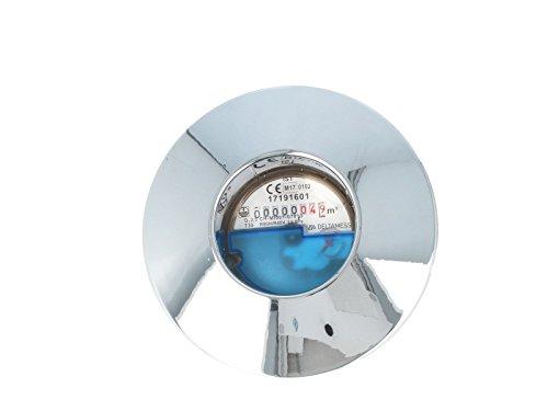 JS Kombirosette zu UP-Wasserzähler-Messkapseln EAS, verchromt