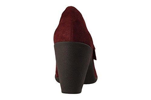 Clarks Schuhe 26128733 Adya Clara Bordeaux Granat