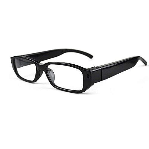 Winomo versteckte Brille, Kamera-Brille Spy Cam DV DVR Camcorder HD 1080P (schwarz)