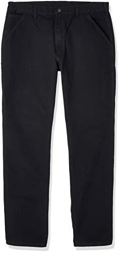 Carhartt Arbeitshosen Hosen Washed Duck EB011, Farbe:schwarz, Größe:W38/L34