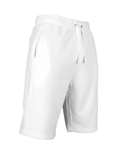 Light Fleece Sweatshorts White