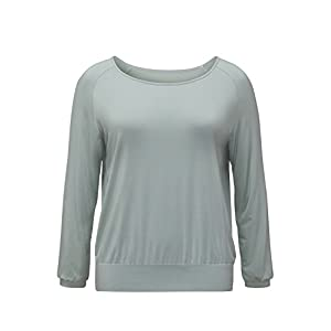 YOGA CURVES Damen Langarm Shirt